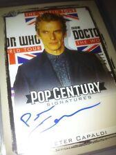 2017 Leaf Pop Century Signature Peter Capaldi Dr Who Autograph 10/25 Not Topps.