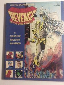 AVENGERS Revenge of the Living Monolith 1985 Marvel Graphic Novel #17 Copper Age