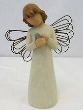 Willow Tree 1999 Figure Angel Of Healing Holding Bird