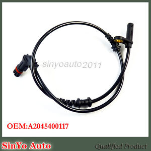 Front Left Or Right ABS Wheel Speed Sensor for Mercedes-Benz W204 C250 C300 C350
