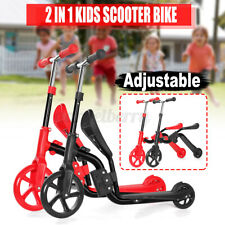Folding Kick Scooter Sport Portable Adjustable Ride Aluminum Lightweight for Kid