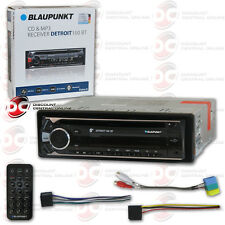 BLAUPUNKT DETROIT 100BT CAR AUDIO SINGLE DIN CD MP3 BLUETOOTH STEREO