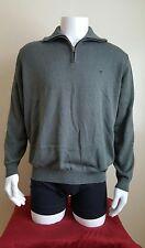 Men's Casa Moda Green Turtle-Neck Pima Cotton L/S Sweater Pullover Size XXL