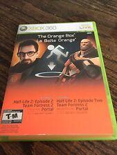 The Orange Box Xbox 360 Cib Game Nice Disc Works XG3