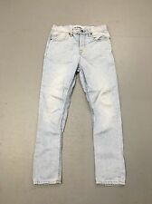 Men's TOPMAN 'Skinny Carrot' Jeans - W30 L32 - Faded Navy Wash - Great Condition