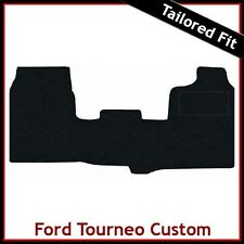 FORD TOURNEO CUSTOM Van 2013 onwards Tailored Carpet Car Floor Mats BLACK