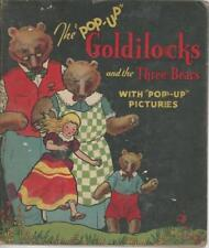 Goldilocks and the Three Bears Illustrated Pop-Up Edition by Cloud & Lentz HC