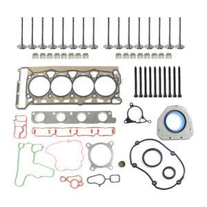 Fits VW EOS Jetta Passat CC GTI 2.0 TSI Cylinder Head Gasket Valves Bolts Kit