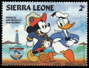 SIERRA LEONE 658 - Donald Duck 50th Anniversary (pa93314)