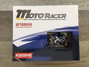 Kyosho Mini Z Micro Moto Racer - 2011 YZR-M1 - YAMAHA - Blue - RTR - 2 Batteries