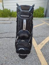 Sun Mountain Sync 15 Divider Golf Cart Bag Black/Gray w Raincover