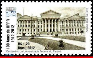 3238 BRAZIL 2012 FEDERAL UNIVERSITY OF PARANA, UFPR, EDUCATION, ARCHITECTURE MNH