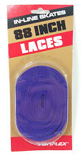 Vintage VARIFLEX 88 Inch In-Line Skate Laces in PURPLE 80s 90s SEALED! FREE SHIP