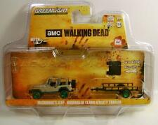 JEEP WRANGLER YJ & TRAILER GREEN MACHINE CHASE THE WALKING DEAD HITCH AND TOW