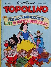 Topolino n°1651 [G.273] - BUONO –