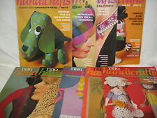 Womans Day -  Handicrafts  - 9 vintage magazines