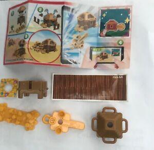 Kinder Egg Toy + Treasure Chest+ Pk 1.