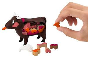 MEGAHOUSE Special Cow puzzle Yakiniku Sukiyaki 3D puzzle Japan free ship