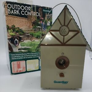 Guardian OUTDOOR BARK CONTROL ultrasonic dog bark deterrent system GBC11-12134
