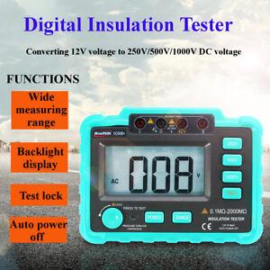 250V 500V 1000V Digital Insulation Resistance Tester VC60B+ MegOhm Meter !