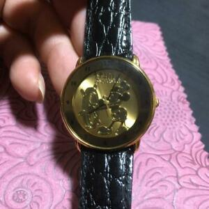 Disney Mickey Mouse Watch Quartz Limited Edition From Japan