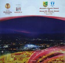 Programm UEFA EL 2011/12 Metalist Charkow - Malmö FF
