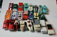 23 Ho scale slot cars vintage untested pre-1970 plus chassis, bodies & parts