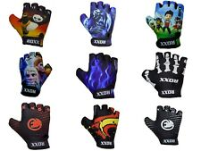 KIDS GLOVES BOYS GIRLS CHILDREN PADDED CYCLING SCOOTER BMX BIKE CYCLE BICYCLE