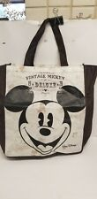 Vintage Walt Disney World Mickey Mouse Deluxe Tote Bag Mouse
