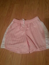 Nwot Girls Nike Athletic Soccer Shorts Size Medium (10-12) Light Pink