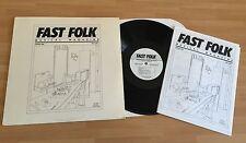 "RARE LP VINYL 12"" FAST FOLK MUSICAL MAGAZINE JANUARY 1985 GORKA KAPLANSKI COLVIN"