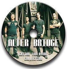 ALTER BRIDGE ROCK GUITAR TAB TABLATURE SONG BOOK SOFTWARE CD
