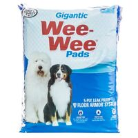 """Four Paws Gigantic Wee Wee Pads 18 Pack (27.5""""L x 44""""W Pads)"""