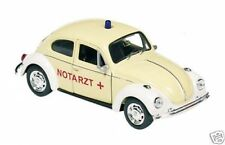 VW Coccinelle Ambulance beige Volkswagen Maquette de voiture Welly