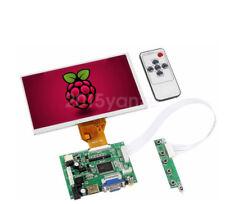 New 7inch LCD TFT Display 1024*600 HDMI VGA Monitor Screen Kit For Raspberry Pi