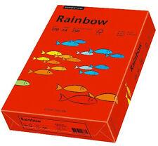 Papyrus Rainbow intensiv - A4 120 G/qm Intensivrot 250 Blatt