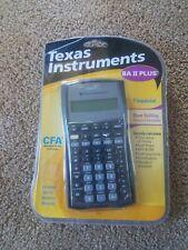 Texas Instruments TI BA II Financial Calculator Sealed new open box