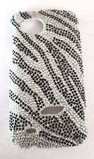 HTC Rezound / Vigor 6425 Zebra Bling Plastic Snap On Cell Phone Case New
