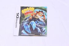 Nintendo DS - Crash of the Titans - Instruction Manual Only