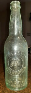 Old Bottle Pabst Milwaukee BOTTLE NOT TO BE RESOLD W.F. & S. MIL