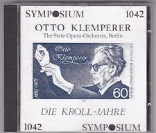 OTTO KLEMPERER-SYMPOSIUM-DIE KROLL JAHRE CD 1988 NEAR MINT!
