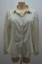 AIGLE CHEMISIER .  BEIGE TAILLE 44 T44 XXL   SHIRT CAMISA BLUSE BLOUSE