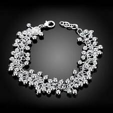 Fashion 925 Silver plated Jewelry Bright Grape Bracelet For Women H017