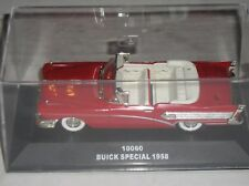 Sun Star Sunstar 1958 Buick Special Convertible Red 1:43 Scale Diecast #10060