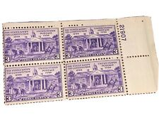 Sc#835 Constitution Ratification 3c Plate Block of 4 Stamps MNH