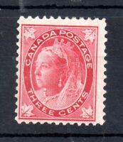 Canada 1897 QV 3c Maple Leaf mint MH SG145 WS19478