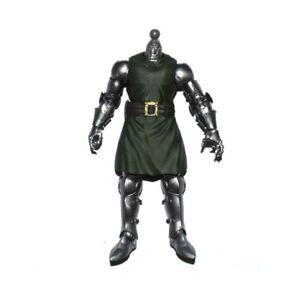 "Marvel Legends Fantastic Four Dr. Doom No Head No Cloak 6"" Action Figure Loose"