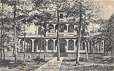 B43/ Mountain Lake Park Maryland Md Postcard 1916 Faith Home Residence