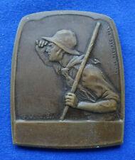 Frankreich - Bronzegussplakette o.J. (E. Blin/R. Brangier) - 54 x 44,5 mm