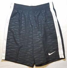 Nike Youth Unisex Soccer Shorts Size Medium Black White.